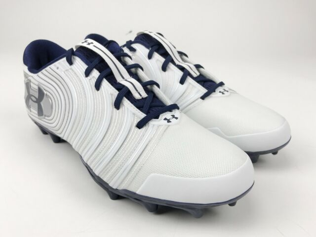 f4738bd8e50a New Under Armour UA Nitro Low Top MC Football Cleats Men's US 9.0 White  3000182