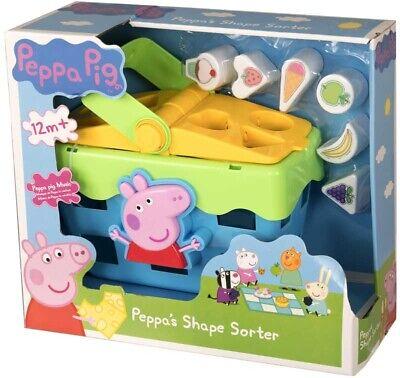 Peppa Pig Shape Sorter Picnic Set - Shapes & Sounds ...