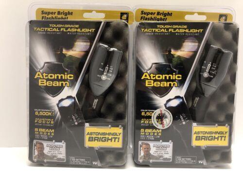 2 Atomic faisceau USA Tough grade tactique lampe de poche as seen on TV
