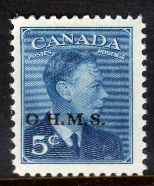 Canada ~ Overprint Official ~ Scott # O15A ~Mint Never Hinged ~ MNH