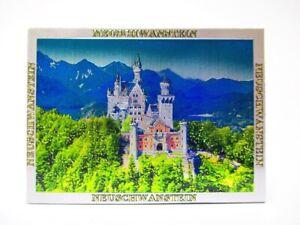 Candado-Neuschwanstein-Premium-Recuerdo-Iman-Alemania-Baviera-Laser-optica