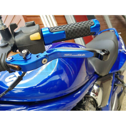 MOTORCYCLE CNC Aluminum 7//8/'/' 22MM GEL Handlebar Handle Grips For BMW S1000RR