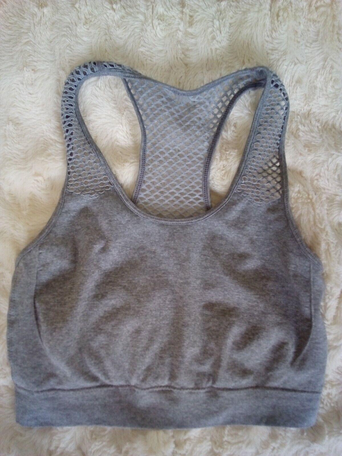 Atmosphere Sport BH workout wear Gym Sportbekleidung Sportunterwäsche grau 34