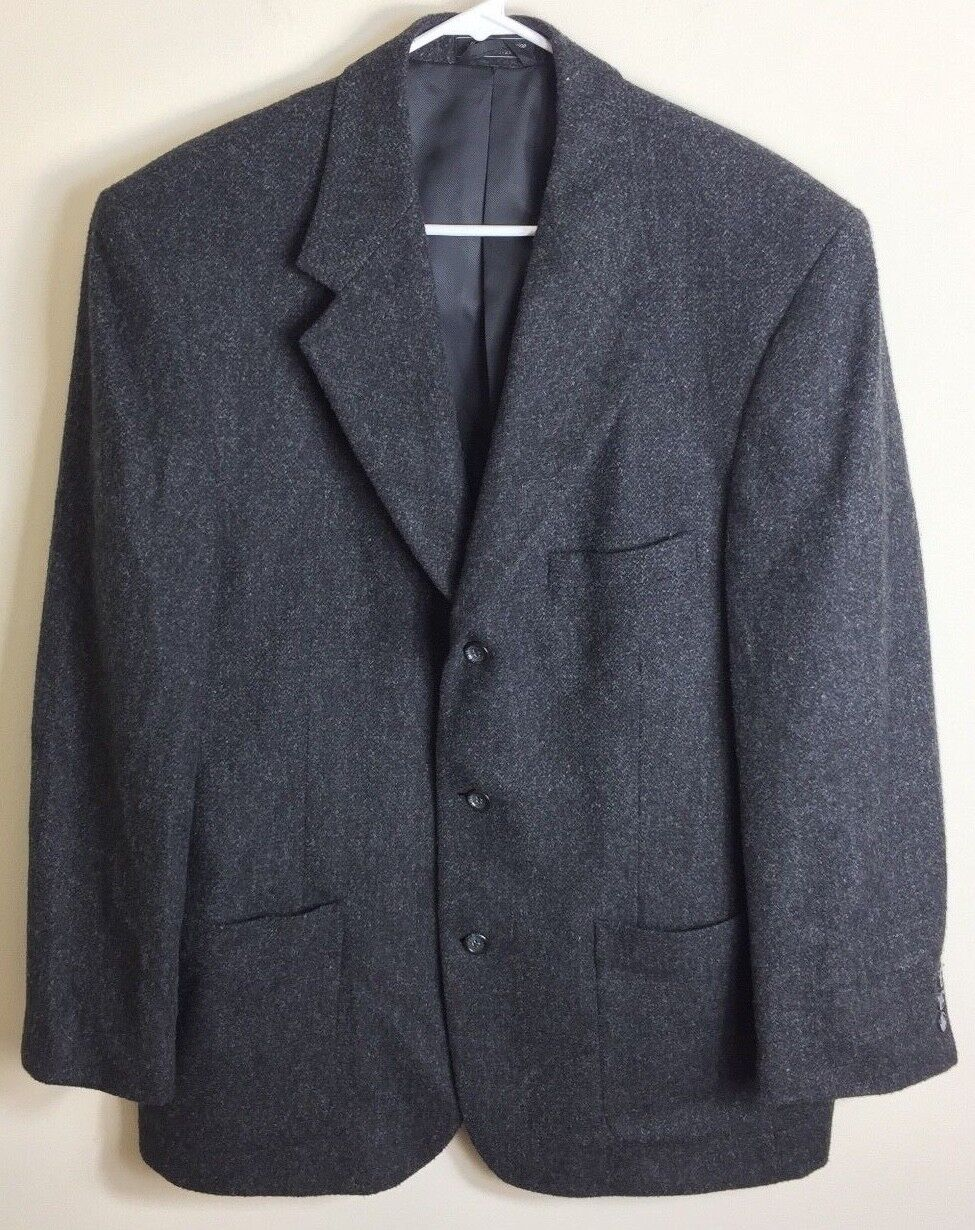 Today's Man Camel Hair Stern Sport Coat Blazer Suit Jacket Classic Größe 44R