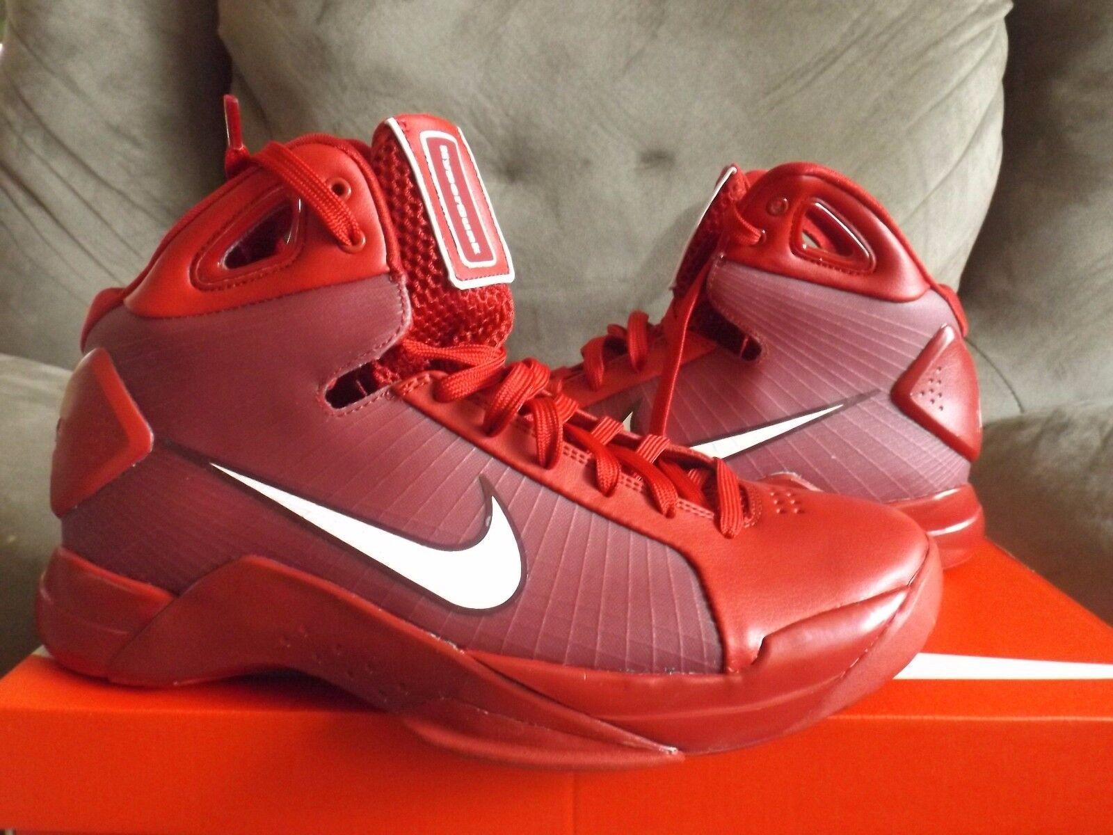 Nike hyperdunk hyperdunk Nike 2008 red uomini scarpe da basket rosso 820321 601 di nuovo senza scatola 216d5d