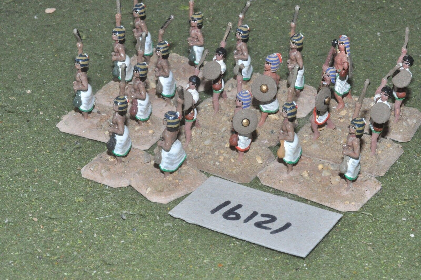 25mm biblical   egyptian - infantry 20 figures - inf (16121)