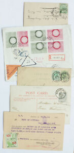 Belgium-Cover-and-Postcard-Card-11-Lot
