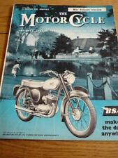 MOTOR CYCLE 22.10.1959 BIANCHI FALCO R/TEST jm