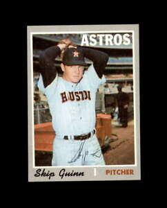 Skip Guinn Hand Signed 1970 Topps Houston Astros Autograph