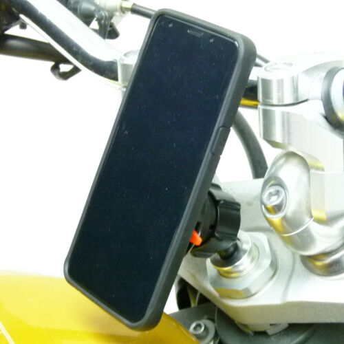 Bike Stem Mount & TiGRA FITCLIC Neo Case for Google Pixel 3 XL fits BMW S1000RR