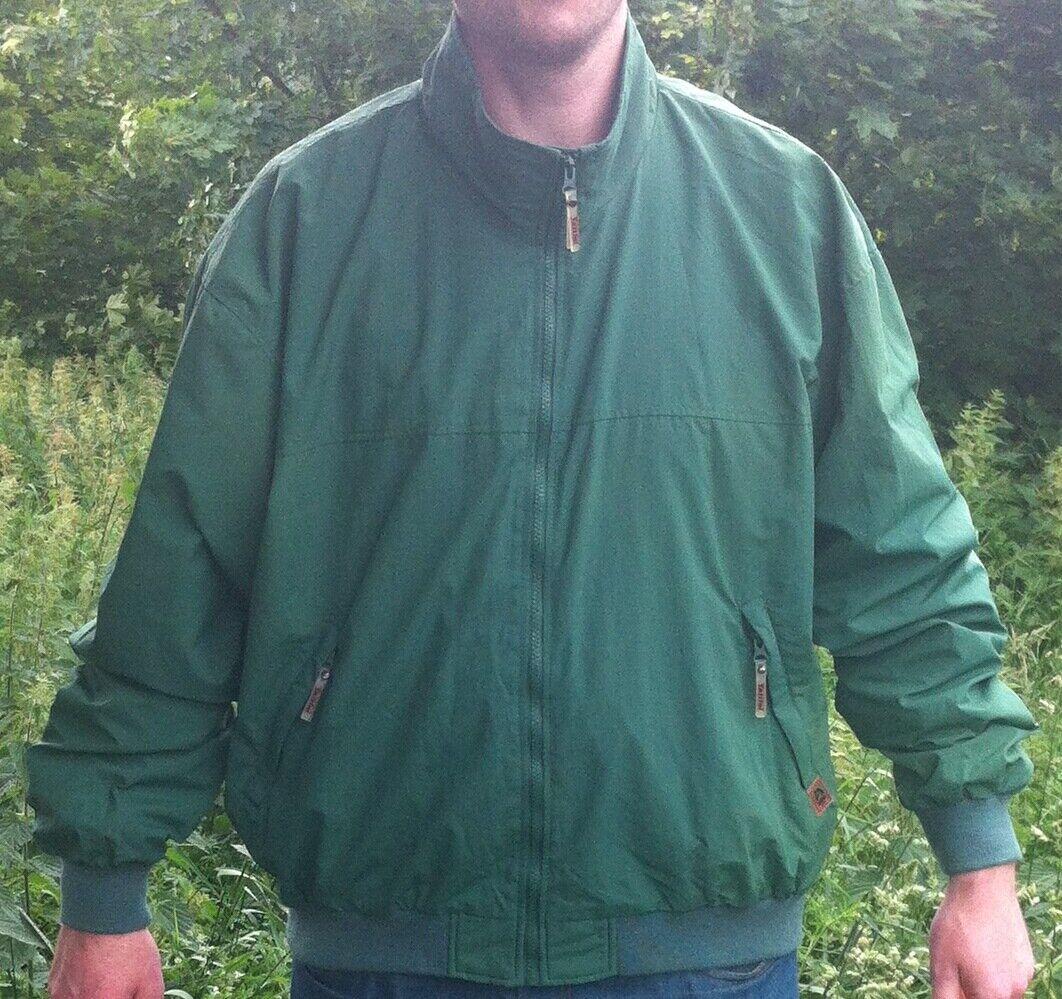 Giacca Bomber TATTINI Cappotto Top verde da Uomo Qualità Di Marca XS S M L 2XL BNWT NUOVO