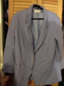 Vintage Made blu '90 chiaro Lana '80 Large 14 anni anni fiordaliso In fiordaliso Foderato Russia RvXR4ZyqS