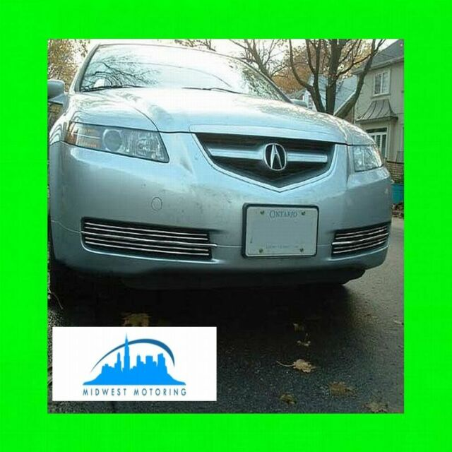 FITS 04 05 06 07 08 ACURA TL CHROME TRIM FOR LOWER GRILL