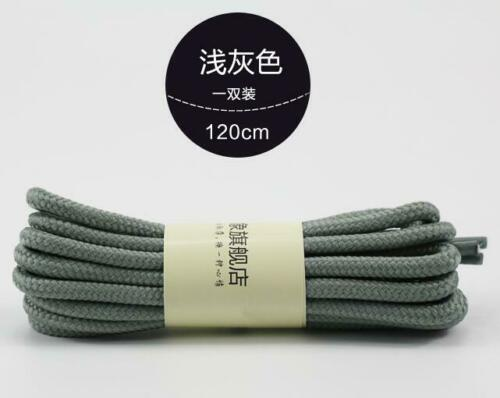 Round Rope Outdoor Mountaineer Laces Anti Skid Wear Resistant Hiking Shoe Laces
