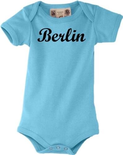 Baby Body ta Ville Berlin City shirts culte 0-18 Mois