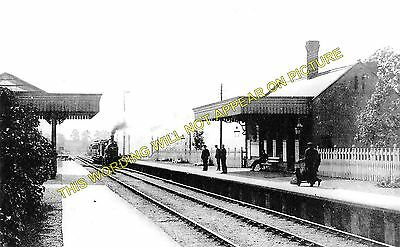 Lowersby 2 Ingersby Railway Station Photo Thurnby /& Scraptoft.
