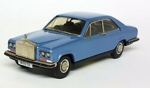 Replicars-1-43-Scale-White-Metal-103-Rolls-Royce-Carmargue-Metallic-Blue