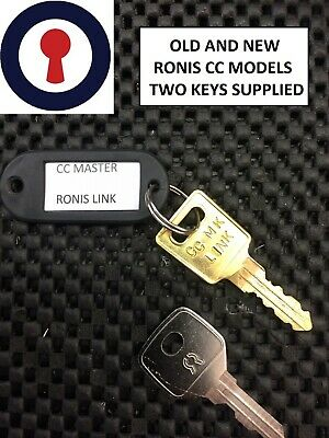 WSS CC Series Desk Lockers 1st P/&P Master keys Ronis and Link Lockers Cabinet