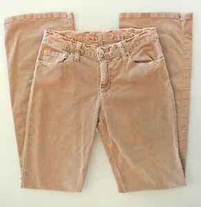 Dead Sexy Para Mujer Pantalones Vaqueros Corte De Botas Tamano 27 32 Bolsillos Flare Pana Bronceado Ebay