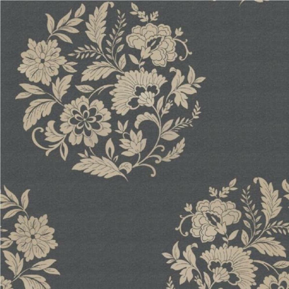 NEW LUXURY FLORAL MOTIF TEXTURED METALLIC HIGH QUALITY NON-WOVEN WALLPAPER ROLL