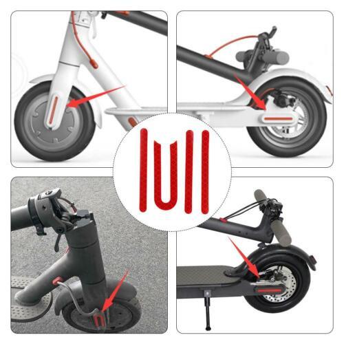 Housse Roue De Protection Shell réfléchissant autocollant pour M365 scooter électrique