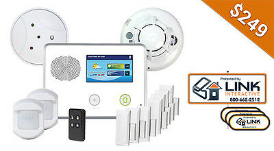 Link Interactive Home Security and Home Automation Package