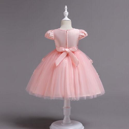 Children/'s dress Tutu Princess Wedding Flower Girl Kid Dress Baby Dresses ZG8