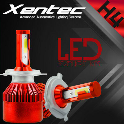 H4 252W 25200LM CREE LED Headlight Kit Hi//Low Beam Bulb White 6000K Power US