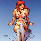 MARY JANE Signed ART PRINT Joseph Michael JOE LINSNER 17 x 11