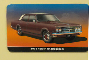 Holden-HK-Brougham-Sedan-Maroon-Burgundy-Fridge-Magnet