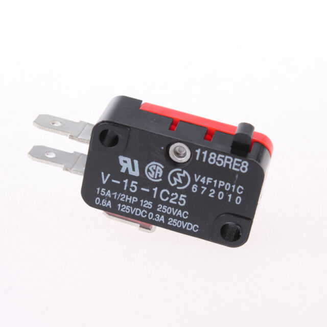 10pcs Micro Switch Basic Snap Action Switch 15 A V-15-1C25