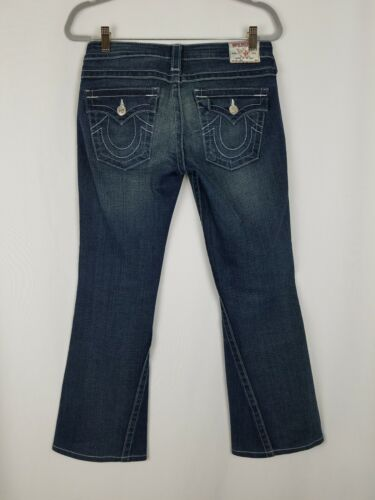 Donna Super Jeans True Distressed Flare 28 Joey T Religion Denim SSryPqE46