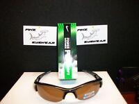 Finz Polarized Golf Sunglasses Black/amber Lens + Nike Soft Power Distance