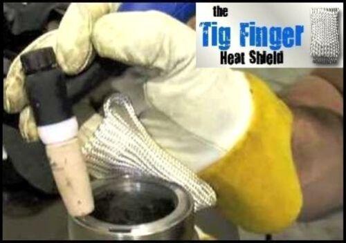 TIG FINGER HEAT SHIELD