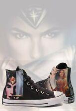 4928f72189b866 Converse Chuck Taylor All Star Hi DC Comics Wonder Woman Sneaker Womens  Size 10