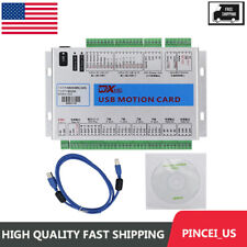Usb 2mhz Mach4 Cnc 4 Axis Motion Control Card Breakout Board For Cnc Machine Us