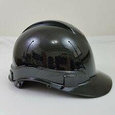 Full Safety Helmet Hard Hat Protection Carbon Fiber Design Ratchet  Suspension