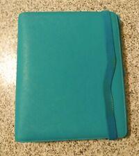 Kikki K Planner Binder Large Teal Turquoise Aqua Blue Pages Amp Tabbed Dividers