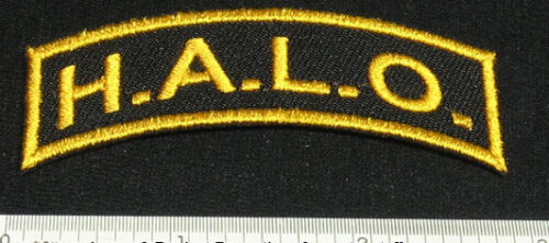Lot de 2 Halo Patches High Altitude Low Opening for Skydive shirt Cap Rig 25Q