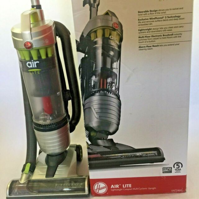 Certified Refurbished Hoover UH72511 Air Lite Deluxe Bagless Upright Vacuum