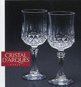 Cristal Darques Verres.Details Sur Cristal D Arques Verre Transparent 32cl Pack De 6 Verres Longchamp Brandy Home Bar Afficher Le Titre D Origine