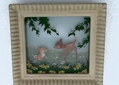 Disney Multiplane Painting Bambi & Thumper,   by Chinese American Tyrus Wong