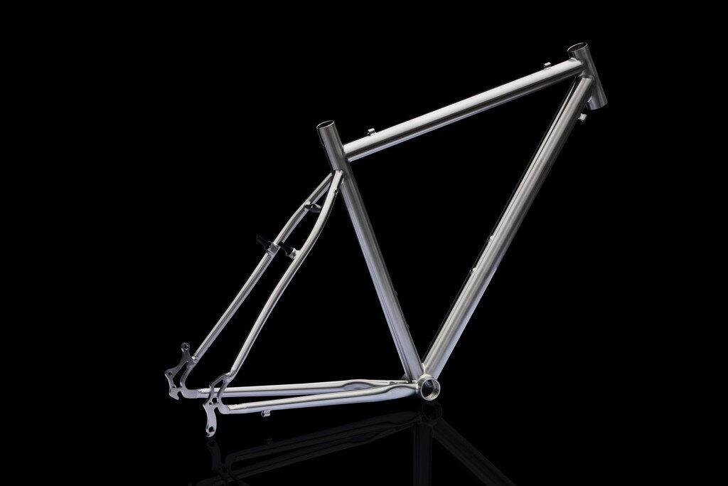 J&L Titanio Ciclocross CX touring bike cuadro-Ti 50  60-1480g