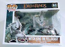 Le Seigneur des Anneaux-Witch King sur fellbeast #63 Rides Boîte Endommagée Funko POP