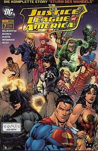 JLA-Justice-League-of-America-ab-2007-Auswahl