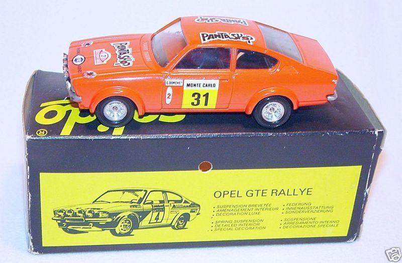 online barato Solido 1 43 Opel Kadett Gte Rallye Coches Modelo Mb Mb Mb `78 Raro  Entrega directa y rápida de fábrica
