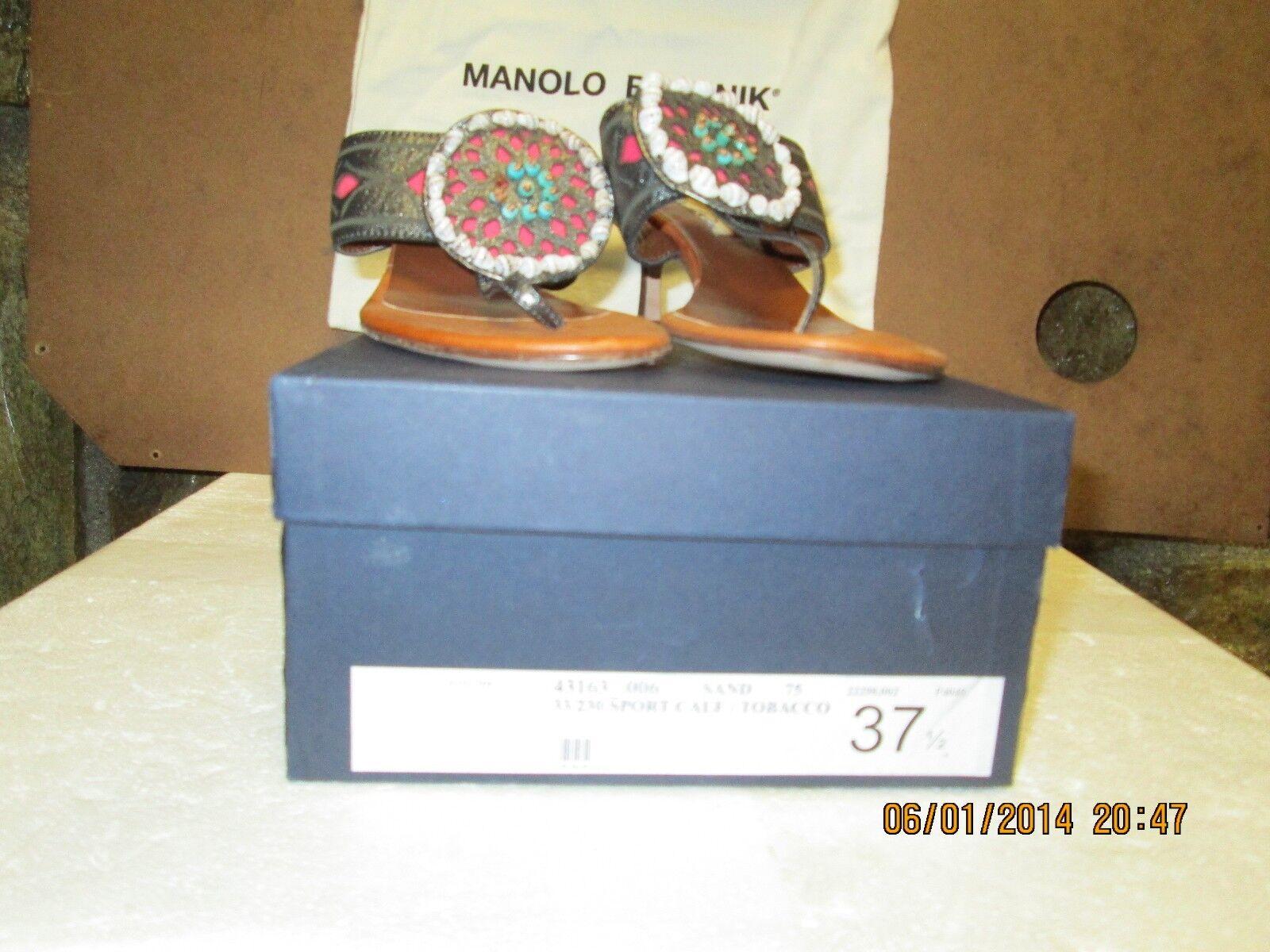 negozio online Oscar de la la la Renta Leather Heeled Sandals 37.5  negozio di vendita outlet