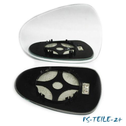 Facelift 04//2009-2012 links konvex beheizbar Spiegelglas für SEAT LEON 1P
