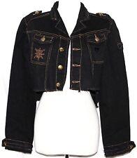S Ruffle Emo Steam Punk Goth Gothic Gypsy Hippie Boho Bohemian Jacket Short Coat