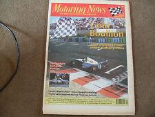 Motoring News 5 October 1994 Cambrian Weir Toyota Cork 20 Rally Bathurst